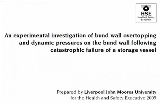 HSE Bund Wall Failure of Storage Vessel Slide