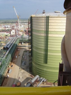 Picture of Dry Seal Gas Holder